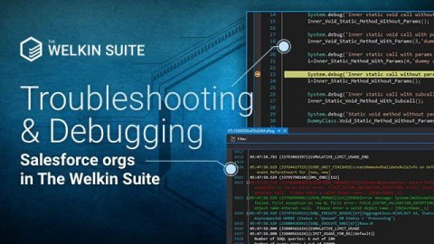 Troubleshooting and Debugging Salesforce orgs in The Welkin Suite