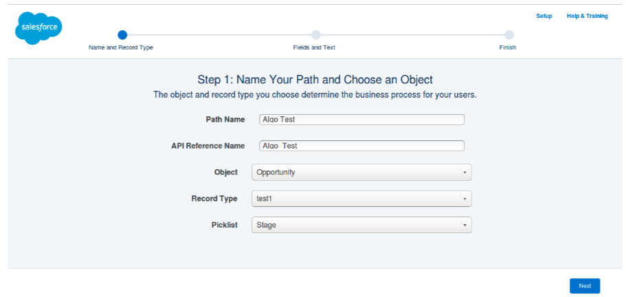 salesforce sales path your company s sales processes in