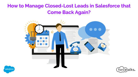How to Manage Closed-Lost Leads in Salesforce that Comes Back Again