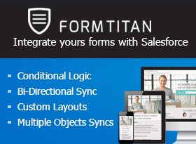 FormTitan Form Builder with Robust Integration for Salesforce
